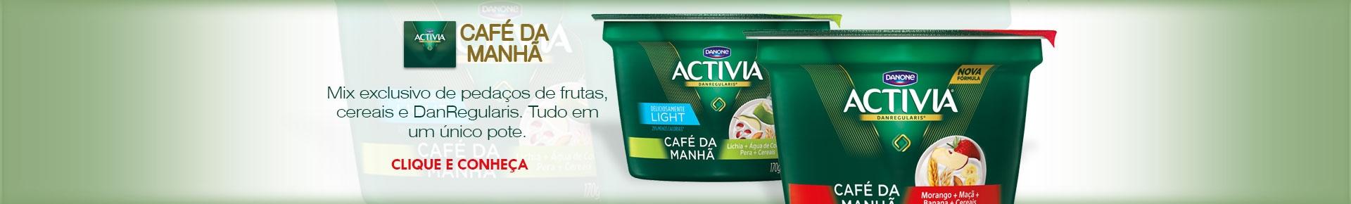 ACTIVIA CAFÉ DA MANHÃ