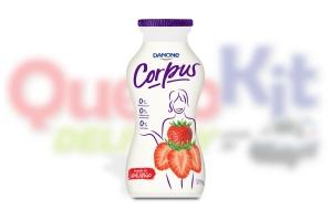 CORPUS LIQUIDO ZERO 170G - MORANGO - <b>CAIXA COM 20 UNIDADES</b>