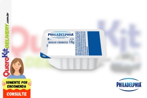 PHILADELPHIA <b>CREAM CHEESE ORIGINAL BLISTER 18G</b> - CAIXA COM 144 UNIDADES