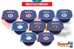 <b>KIT GREGO DELÍCIAS</b> C/ 09 UNIDADES