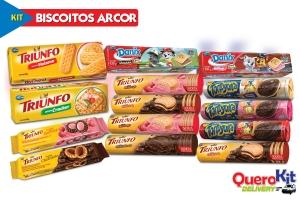 *<b>KIT BISCOITOS ARCOR</b> C/ 14 UNIDADES - VERSÃO 10/09/19