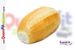 SARIPAN <b>PÃO FRANCÊS CRU E CONGELADO 62,5G</b> - PACOTE COM 3,125 KGS (50 UNIDADES)