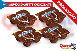 *<b>KIT MUNDO DANETTE CHOCOLATE</b> C/ 16 UNIDADES
