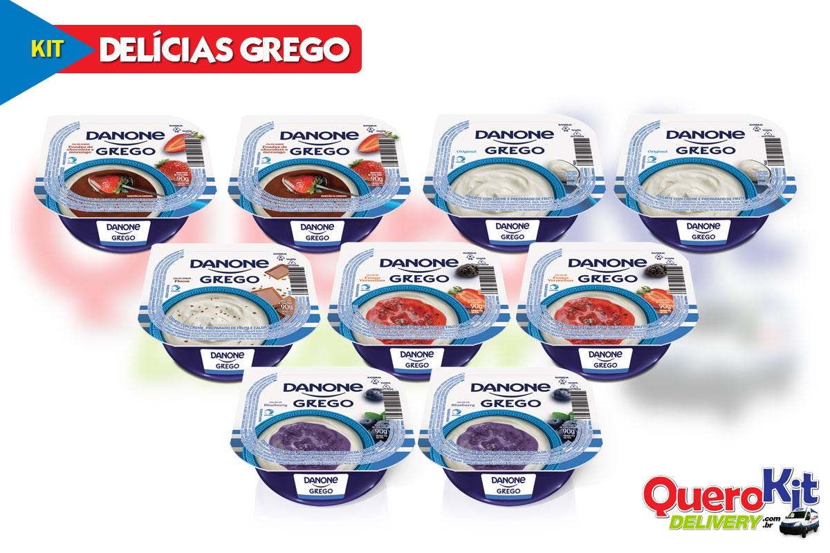 *<b>KIT DELÍCIAS GREGO</b> C/ 09 UNIDADES - CÓD: 1290