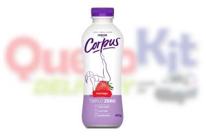 CORPUS LIQUIDO FAMILIA ZERO 850G - MORANGO  <b>CAIXA COM 15 UNIDADES</b>
