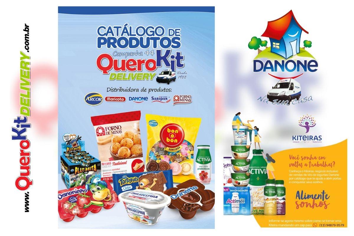 *<b>KIT CATÁLOGO CAMPANHA 36 QUEROKIT</b> C/ 5 UNIDADES