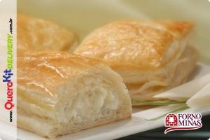 FORNO DE MINAS <b>FOLHADO PALMITO 40G</b> - PACOTE C/ 24 UNIDADES (960G)