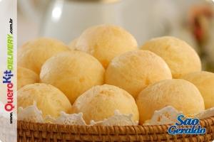SÃO GERALDO <b>PÃO DE QUEIJO TRADICIONAL 25G</b> - PACOTE C/ 40 UNIDADES (1KG)